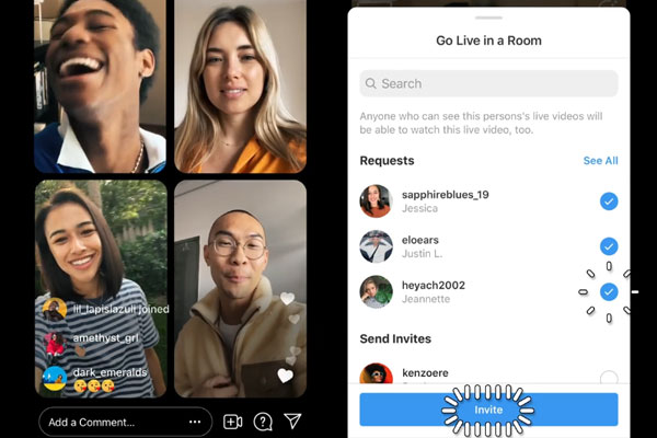 Instagram Rooms - аналог Клабхауса на Android