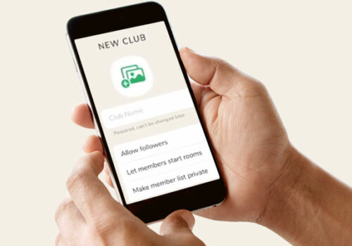 Обновление Clubhouse: теперь клуб можно создать в приложении